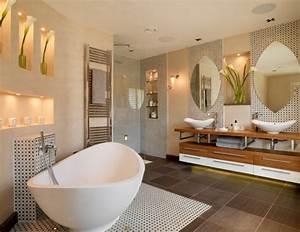 salle de bain avec douche italienne en quelques idees deco With idees amenagement salle de bain