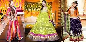 Pakistani Mehndi Dresses 2018 For Wedding Brides BestStylo