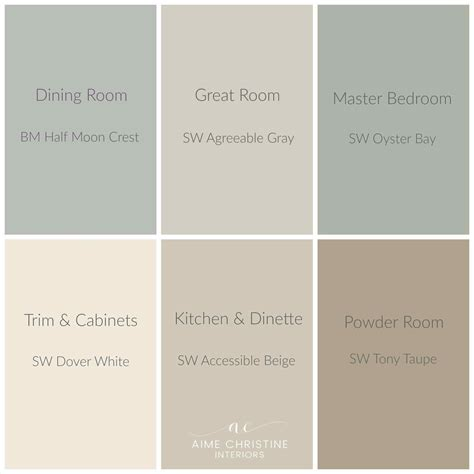 neutral farmhouse colors sherwin williams grey paint home