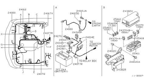 Nissan Frontier Engine Wiring Diagram 2001 nissan frontier engine diagram automotive parts