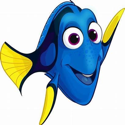 Dory Nemo Clipart Fish Marlin Club Penguin