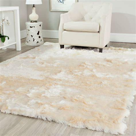 ivory shag rug safavieh shag ivory 6 ft x 9 ft area rug sg511