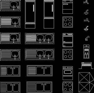 Kitchen Applications Blocks02 DWG Block for AutoCAD