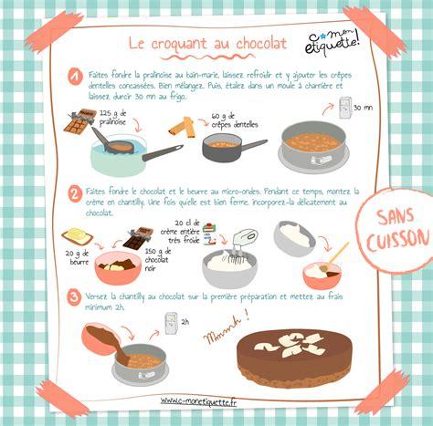 recettes de cuisine pour enfants recette croquant chocolat recette croquant découvrir et