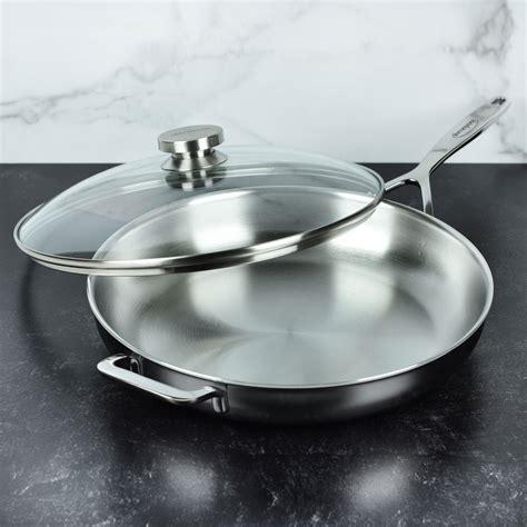 demeyere glass lid  cutlery