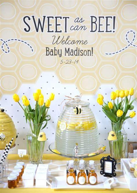 sweet   bee baby shower baby shower gender