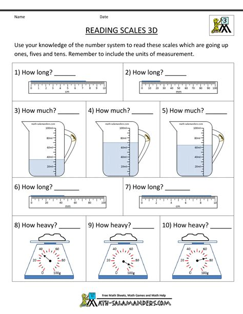 third grade weight worksheets volume worksheets 3rd grade worksheets for all