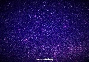 Elegant Purple Magic Dust Background - Vector Glowing ...