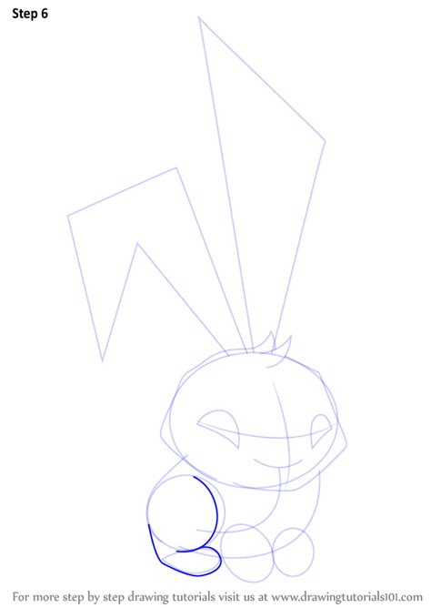 step  step   draw bunny  animal jam