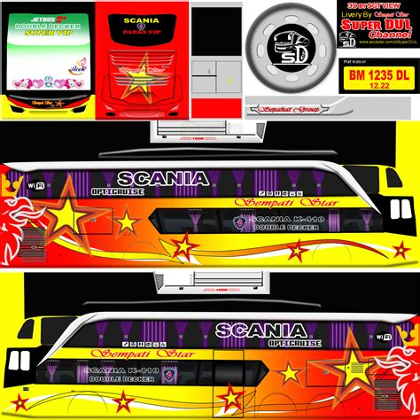 Beberapa kumpulan template tersebut dapat kamu download dengan mudah dan gratis. Livery Bussid Anime Keren - livery truck anti gosip