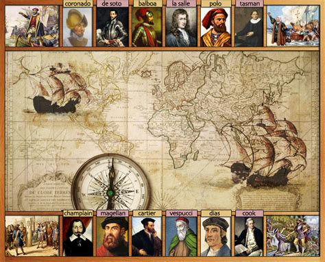 Europe Discoveries & Explorations During 15th & 16th