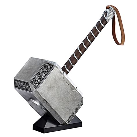 mjolnir electronic hammer marvel legends gear prop