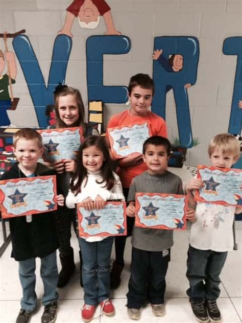 calvert elementary selects october students month marshall