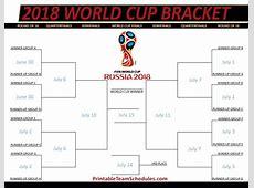 2018 FIFA WORLD CUP RUSSIA BRACKET MAGNET SOCCER FUTBOL