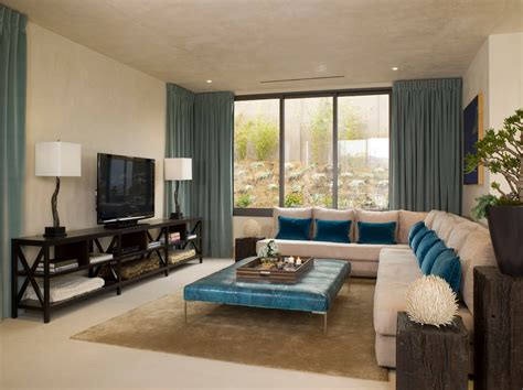 contemporary livingrooms stupendous teal window treatments decorating ideas images