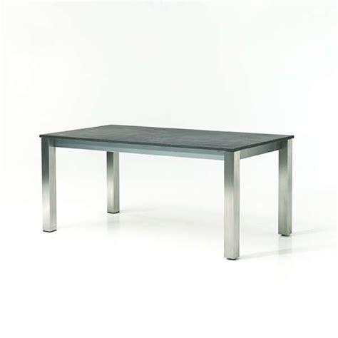 table cuisine extensible table de cuisine extensible en mélaminé et métal vegas