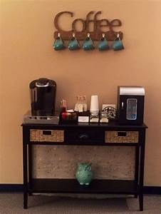 Coffee bar for my therapy office The Therapist's Office