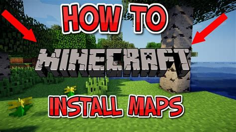 install minecraft maps  pcjava  youtube