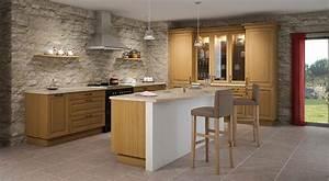 Cuisine équipée Bois : cuisine quip e en bois le bois chez vous ~ Premium-room.com Idées de Décoration