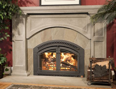 wood burning fireplaces high efficiency fireplaces