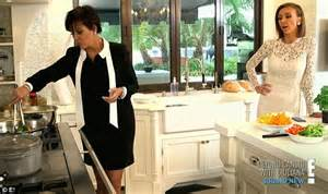 in the kitchen with kris kris jenner tells sorrow of robert
