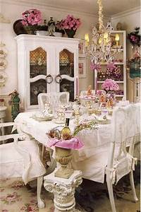 Shabby Chic Mode : shabby chic dining room ideas diy crafts ~ Markanthonyermac.com Haus und Dekorationen
