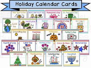 Holiday Calendar Cards Children's Calendar Digital