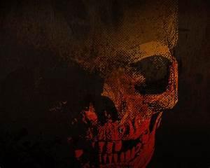 skull wallpaper by BLACKBULLSEYE on DeviantArt