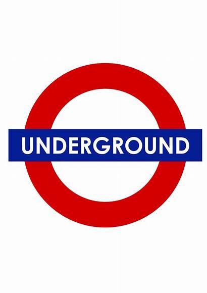 Metro Underground London Londres Subterraneo Logos Logotipo