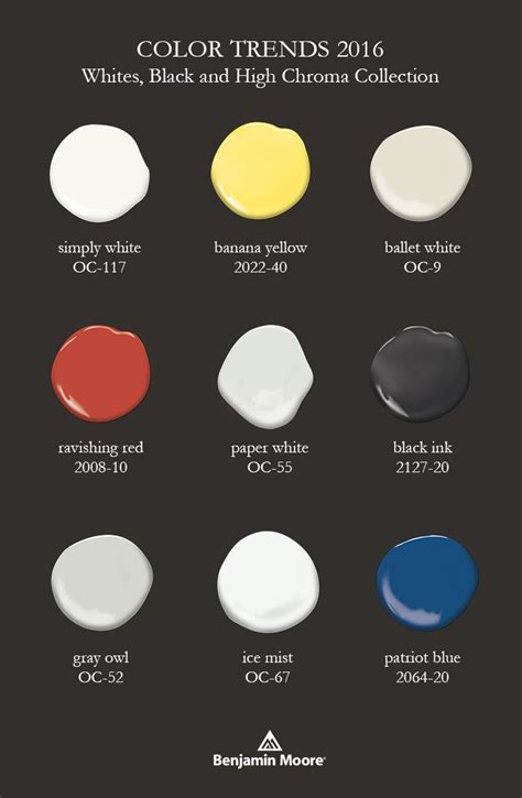 17 best images about benjamin moore color trends 2016 on
