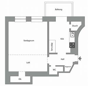 Awesome 35 square meters (376.737 sq ft) Apartment With an ...