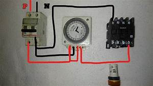 Street Light Timer Setting  U0026 Connection With Practical