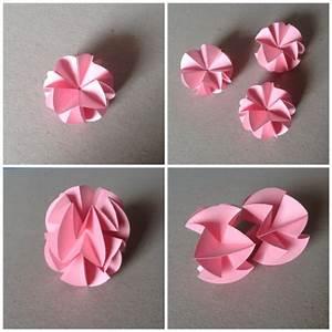 Origami Für Anfänger : diy origami circuit ball geometrische origami origami ~ A.2002-acura-tl-radio.info Haus und Dekorationen