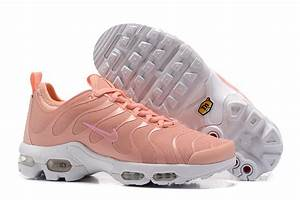 Classic Nike Air Max Plus Tn Ultra Pink White 898014 800 Sneakers Women's Running Shoes
