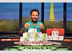 Daniel Negreanu Wins WSOP Europe High Roller, Sixth