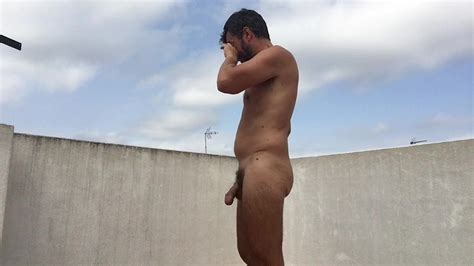 Naked Man Big Cock Outdoor
