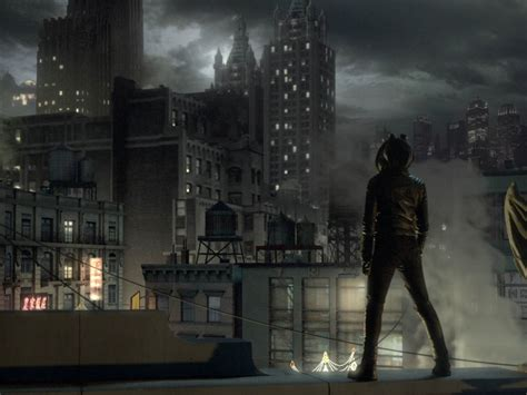 designing gotham     feel  batmans home