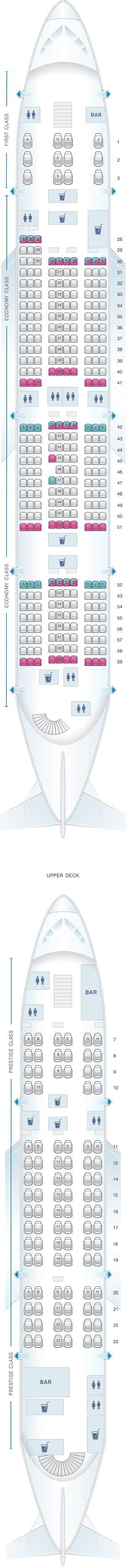 plan siege a380 plan de cabine air airbus a380 800 407pax