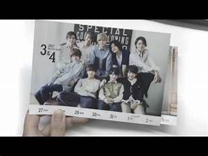Hey! Say! JUMP weekly calendar 2017.4-2018.3 - YouTube
