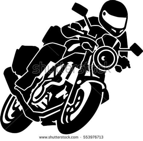 motorcycle rider clipart  clip art