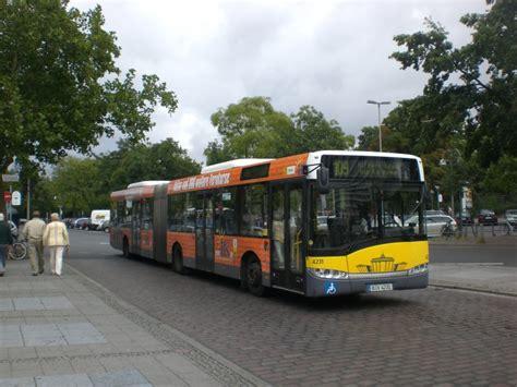 Solaris Urbino Auf Der Linie 109 Nach Flughafen Tegel Am S