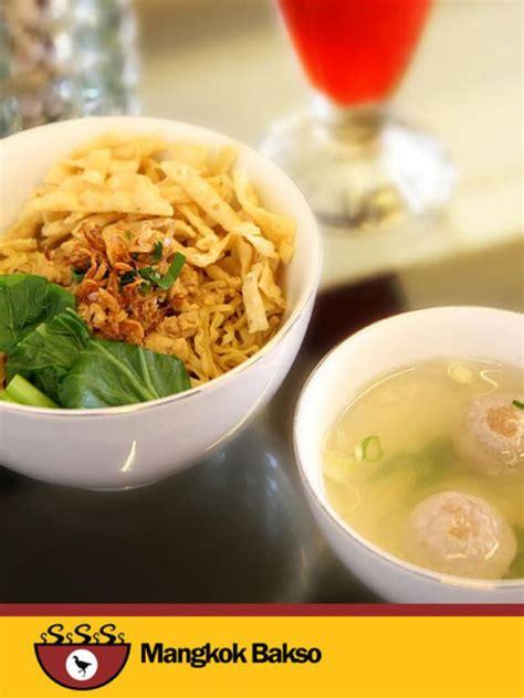 mie ayam mangkok bakso cibubur jawa barat indonesia