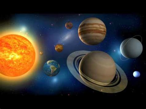 The Planets Our Solar System Youtube