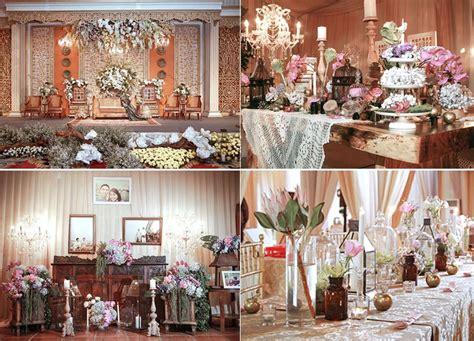 konsep dekorasi wedding tradisional  modern
