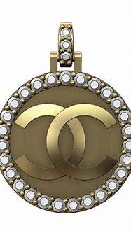 Download 3MF file Diamond Chanel logo Pendant 3D print ...