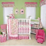 Curtains In The Nursery For Girls Baby Nursery Decor Vinyl Mural Sample Decorating A Baby Girl Nursery