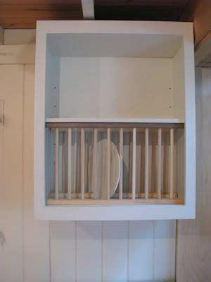 adding plate rack  cabinet    add   kitchen redo love  cabinet