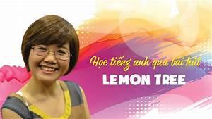 Học tiếng anh qua bài hát Lemon Tree - Hannah Pham - YouTube