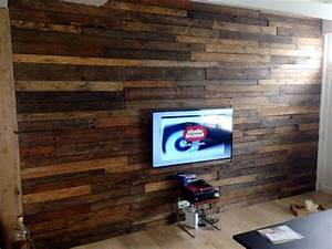 Diy Wood Pallet Wall Ideas And Paneling Autos Post