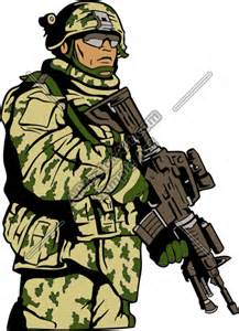 Military Vector Clip Art